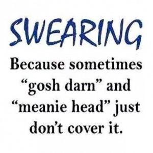 swearing-